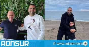 Mientras define su futuro, Gabriel Mercado disfruta de Puerto Madryn - ADN Sur