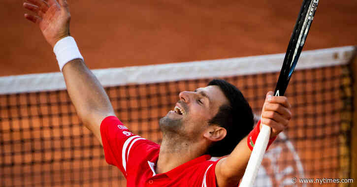 Now Halfway to a Grand Slam, Novak Djokovic Wins the French Open - The New York Times
