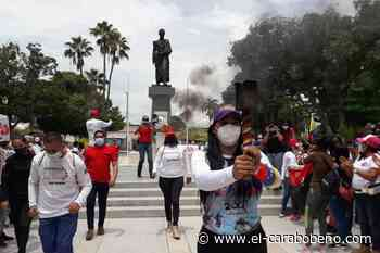 Antorcha del fuego libertario recorrió casco central del municipio San Joaquín - El Carabobeño