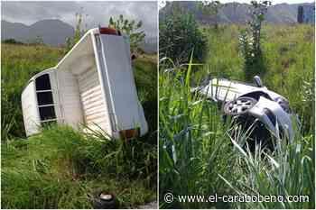 Siniestro vial en la ARC a la altura de San Joaquín involucró a tres vehículos - El Carabobeño