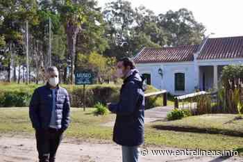 Planificacan nueva luminaria para el Museo Libres del Sur de Dolores - Entrelíneas.info