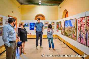 Isabel Toresano, María Dolores Triviño y Ágatha Rodríguez visten las paredes de El Faro - Noticias de Almería