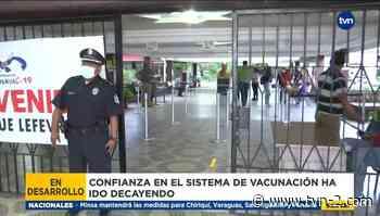 Vacunación en el Instituto José Dolores Moscote - TVN Panamá