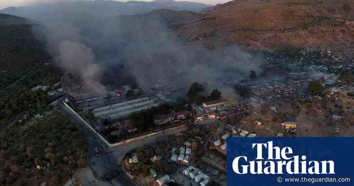 Jailing of Afghans for Lesbos migrant camp fire a 'parody of justice'