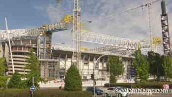 Así luce el Santiago Bernabéu a dos meses de LaLiga 21-22 - AS Colombia