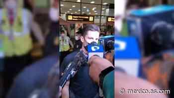 Santiago Ormeño ya se reportó con su selección: 'Arriba Perú', externó a su llegada - AS Mexico