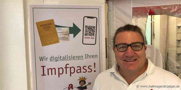 HA+ Apotheker wappnet sich für Ansturm auf digitalen Impfpass - Hellweger Anzeiger
