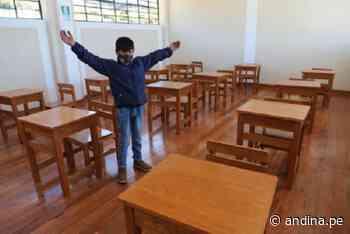 Región Cajamarca construyó 27 colegios con inversión superior a S/ 86 millones - Agencia Andina