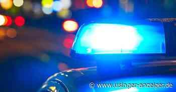 Usingen: Frau kollidiert mit Verkehrsschild - Usinger Anzeiger