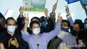 Orrego logró la gobernación de Santiago en estrecho recuento - Cooperativa.cl
