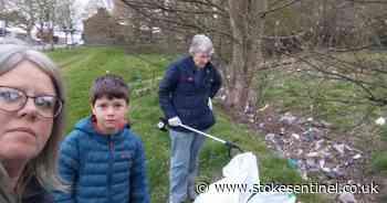 Meet the volunteers cleaning up their Stoke-on-Trent community through regular litter picks - Stoke-on-Trent Live