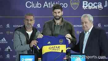 La presentación de Orsini en Boca: Palermo, Riquelme y más... - Boca Juniors en TyCSports.com