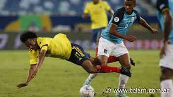 Colombia aguantó la diferencia ante Ecuador y se llevó la victoria - Télam