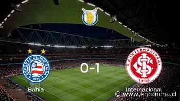 Internacional se lleva la victoria tras vencer 1-0 a Bahía - EnCancha.cl