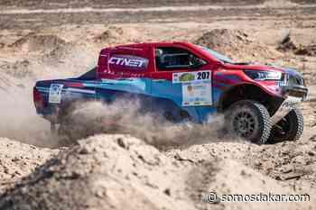 Lucio Álvarez se quedó con la victoria final en Kazajistán - Somos Dakar