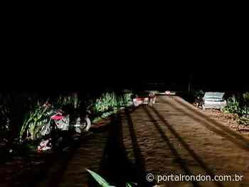 Acidente envolvendo moto é registrado na estrada que liga Nova Santa Rosa a Planalto do Oeste - Portal Rondon