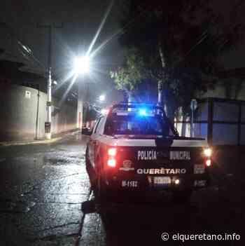 Mata a uno en Loma Bonita, intentó huir pero lo atraparon - El Queretano