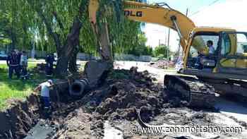 Con inversión municipal, avanza una nueva obra hidráulica en General Pacheco - zonanortehoy.com