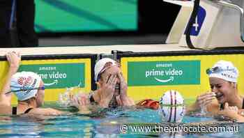 Swimmer Seebohm to race at fourth Olympics - The Advocate