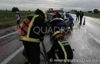 Siete muertos, saldo de choque en Tlaxcala - Quadratín Oaxaca