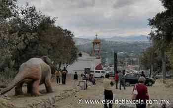 Atraen dinosaurios visitas a Cuaxomulco - El Sol de Tlaxcala
