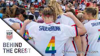 BEHIND THE CREST: USWNT Starts Off Summer Series in Houston - U.S. Soccer