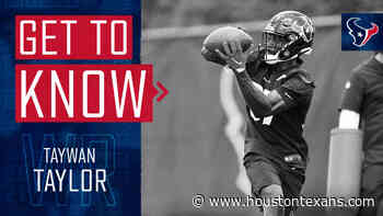 Get to know Houston Texans wide receiver Taywan Taylor, signed as a free agent on May 20, 2021. - HoustonTexans.com