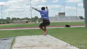 Houston Baptist University triple-jumper Christopher Welch will compete at US Olympic trials on June 19 - KTRK-TV