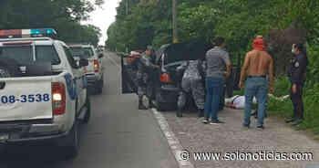Capturados tras asaltar a mano armada en restaurante de Santo Tomás - Solo Noticias