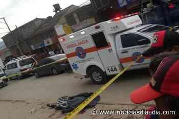 Homicidio en plena calle y a la luz del día en Zipaquirá - Noticias Día a Día