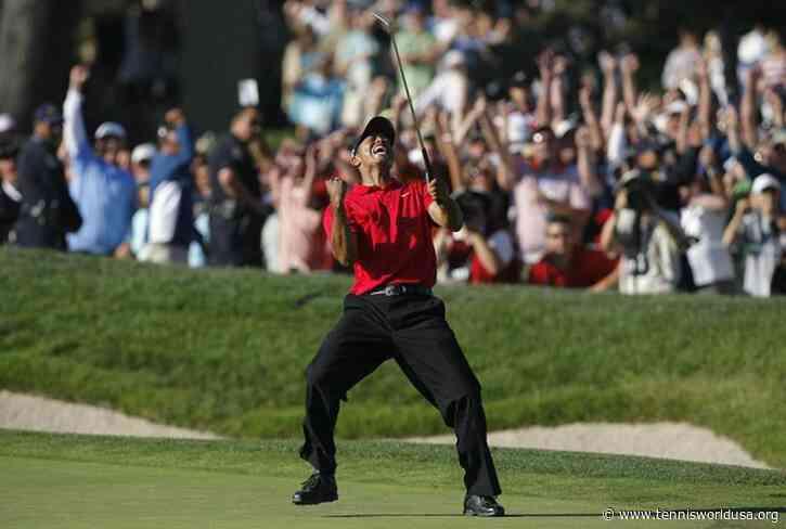 Tiger Woods, historic plaque in Torrey Pines