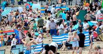 Brits to swelter in 29C on hottest day of year before thunder and floods move in