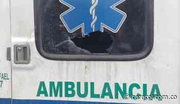 Ofrecen recompensa para capturar a quienes atacaron ambulancia en Pereira - Caracol Radio