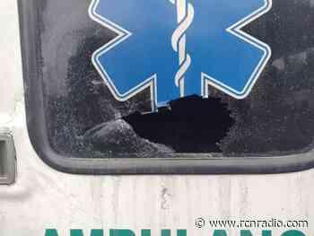 Cinco ambulancias han sido vandalizadas en Risaralda en medio del paro nacional - RCN Radio