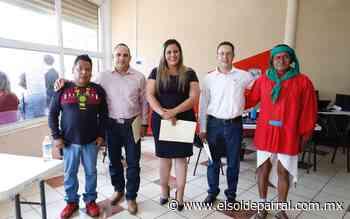 Candidatos del PRI reciben constancia en Guachochi - El Sol de Parral