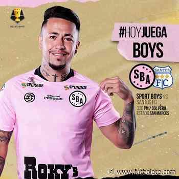 Ver en vivo Santos vs Sport Boys por la primera ronda de la Copa Bicentenario de Perú - Futbolete