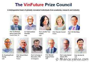 Nearly 600 nominations submitted for Vietnam's first-ever global sci-tech prize - Yahoo Finance