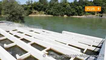 Die Fischtreppe am Augsburger Hochablass lässt auf sich warten