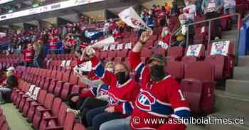 Quebec health officials weigh Montreal Canadiens' request for more fans - Assiniboia Times