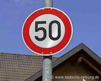 Oberrimsingen wartet auf Tempo 30-Schilder - Breisach - Badische Zeitung