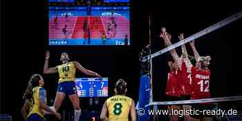 Volleyball: Die Damenmannschaft leidet, schlägt aber Deutschland im Völkerbund - logistic ready - Fachportal für Intralogistik
