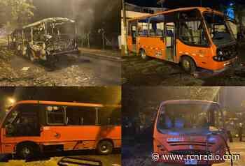 Alcaldía de Ibagué pide celeridad para dar con responsables de actos vandálicos a busetas - RCN Radio