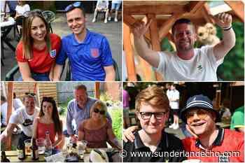 Fans cheer on England to victory in Sunderland pub gardens as Euro 2020 gets under way - Sunderland Echo