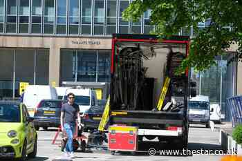 Film crews spotted in Sheffield and Daniel Craig could be on set - The Star
