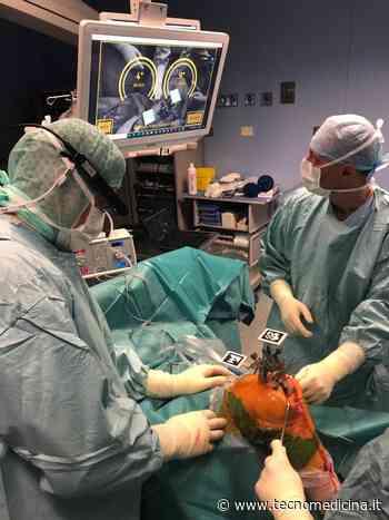 All'Ospedale di Negrar effettuati 5 protesi al ginocchio con la realtà aumentata - Tecnomedicina - Tecnomedicina