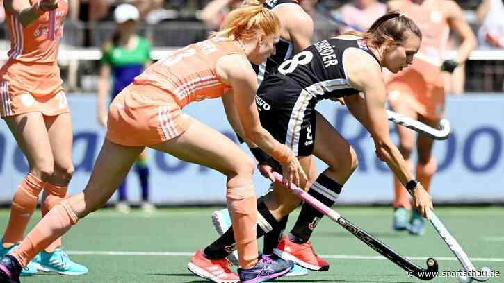 EM-Finale - Hockey-Frauen scheitern an niederländischer Qualität - sportschau.de