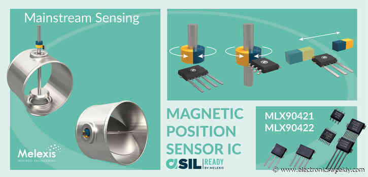 Melexis expands Triaxis position sensors