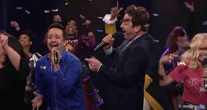 "Jimmy Fallon, Lin-Manuel Miranda & Friends Musically Proclaim ""Broadway's Back!"" - Deadline"