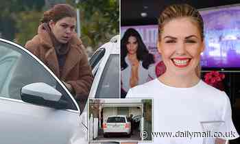 Belle Gibson is spotted looking downcast just weeks after authorities raid her home