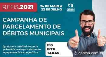 Campanha de parcelamento dos débitos municipais segue aberta – Casimiro de Abreu - Defesa - Agência de Notícias